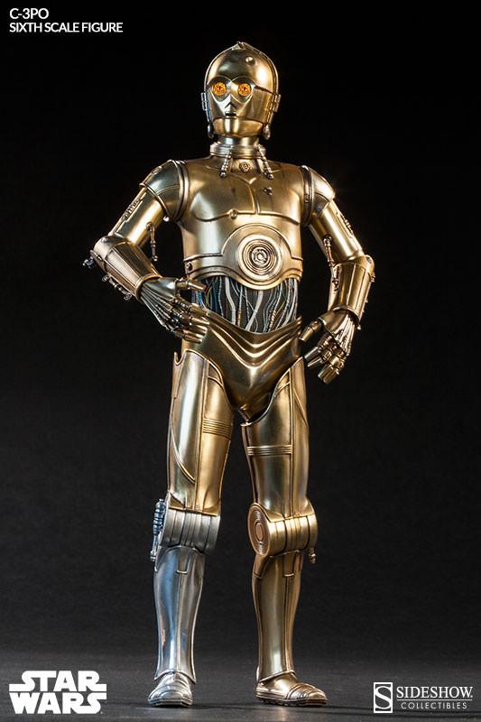 Sideshow - C-3PO Sixth Scale Figure C3po6t10