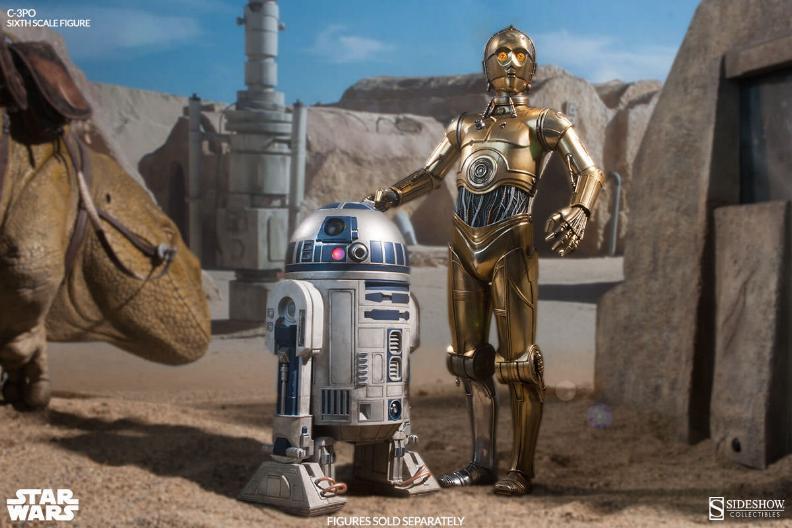 Sideshow - C-3PO Sixth Scale Figure C3po6t12