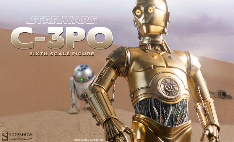 Sideshow - C-3PO Sixth Scale Figure C3po6t13