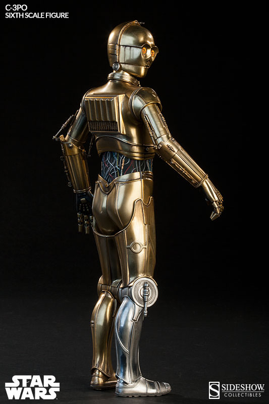 Sideshow - C-3PO Sixth Scale Figure C3po6t19