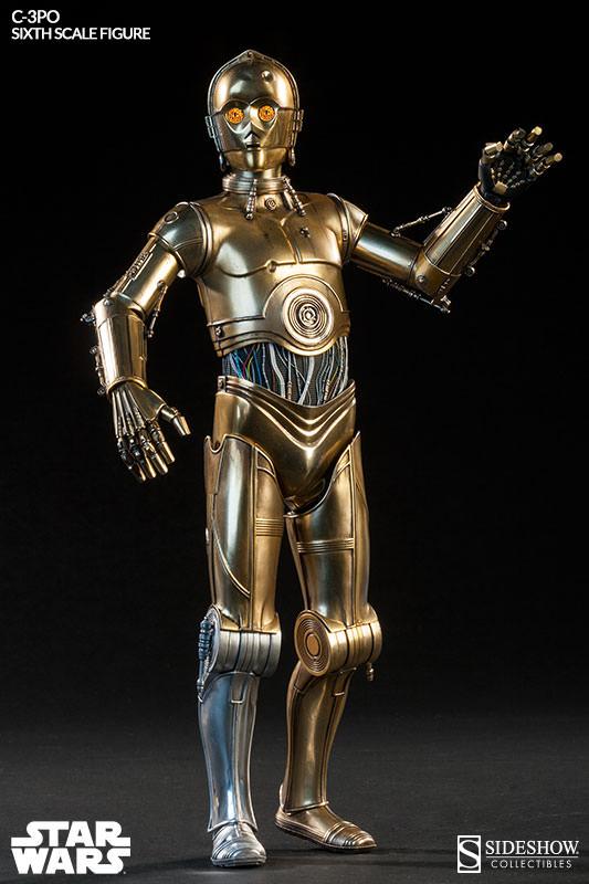 Sideshow - C-3PO Sixth Scale Figure C3po6t22