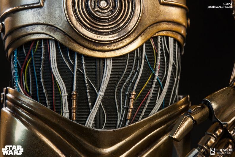 Sideshow - C-3PO Sixth Scale Figure C3po6t23