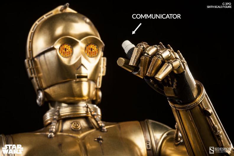 Sideshow - C-3PO Sixth Scale Figure C3po6t25