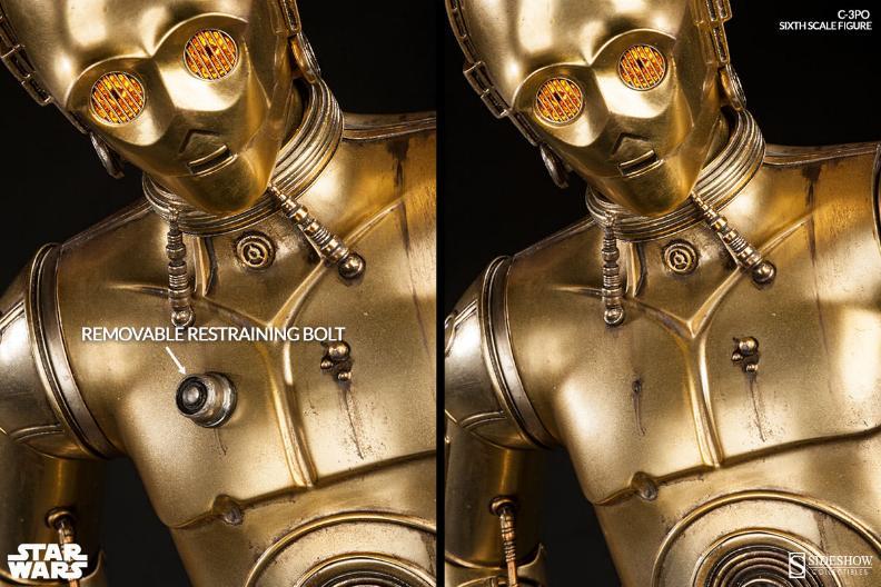 Sideshow - C-3PO Sixth Scale Figure C3po6t26
