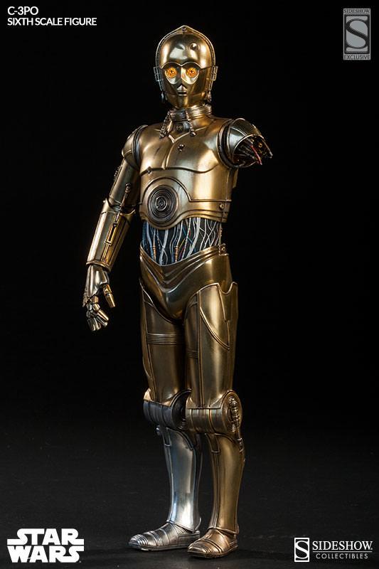Sideshow - C-3PO Sixth Scale Figure C3po6t27