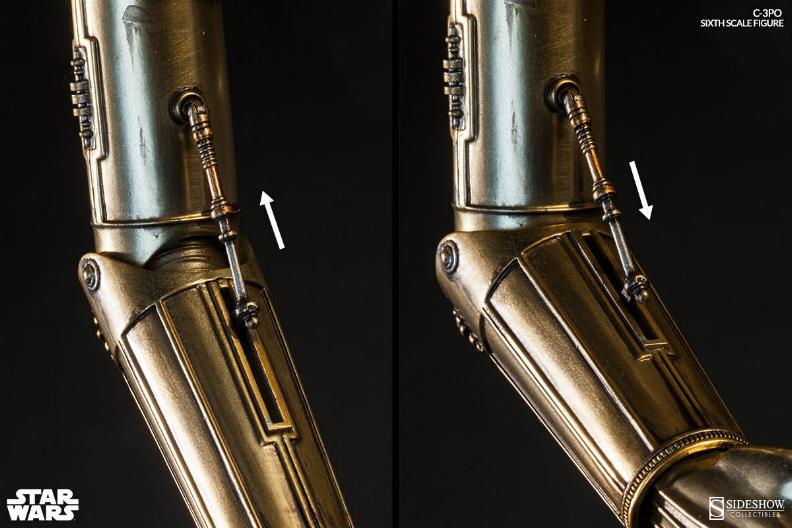 Sideshow - C-3PO Sixth Scale Figure C3po6t28
