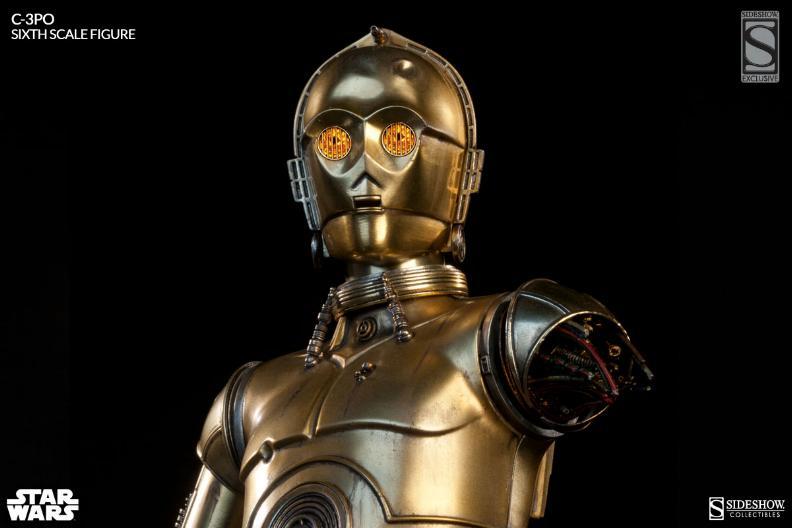 Sideshow - C-3PO Sixth Scale Figure C3po6t29