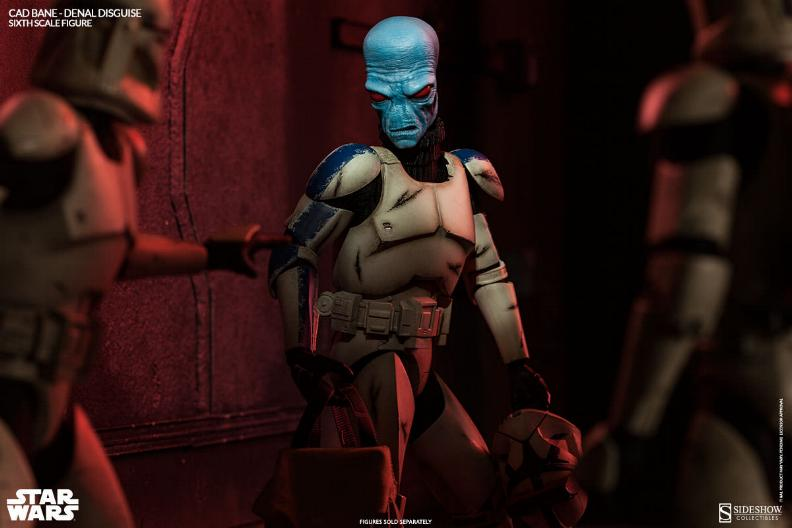 Sideshow - Cad Bane in Denal disguise Sixth Scale Figure Cadban11