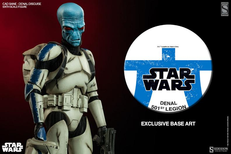 Sideshow - Cad Bane in Denal disguise Sixth Scale Figure Cadban16