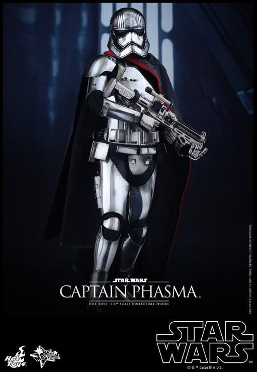 Hot Toys Star Wars TFA 1/6th scale Captain Phasma Cap_pl11