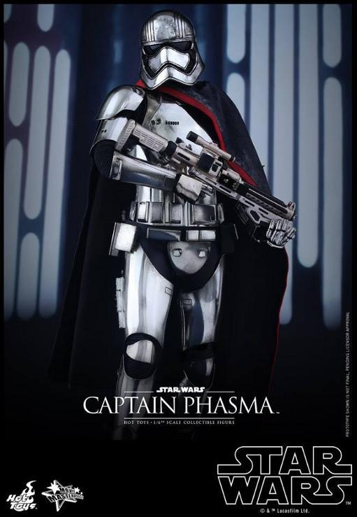 Hot Toys Star Wars TFA 1/6th scale Captain Phasma Cap_pl12