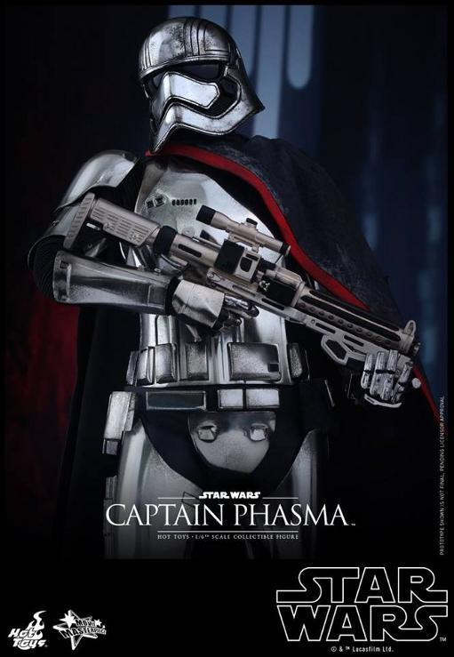 Hot Toys Star Wars TFA 1/6th scale Captain Phasma Cap_pl13
