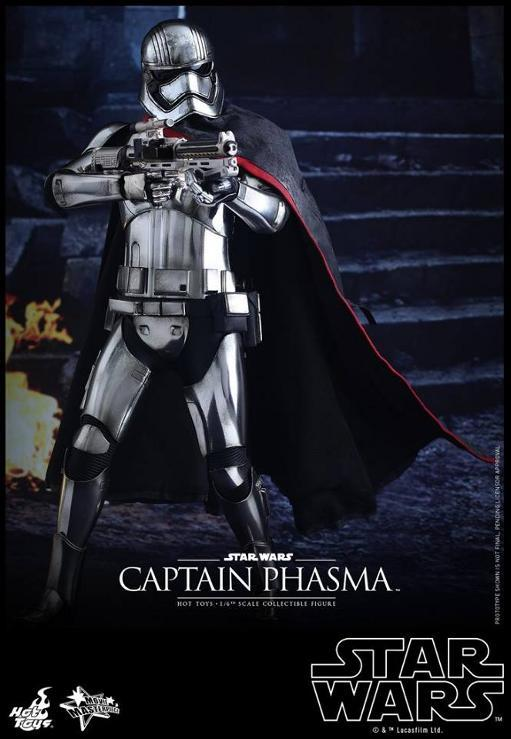 Hot Toys Star Wars TFA 1/6th scale Captain Phasma Cap_pl14