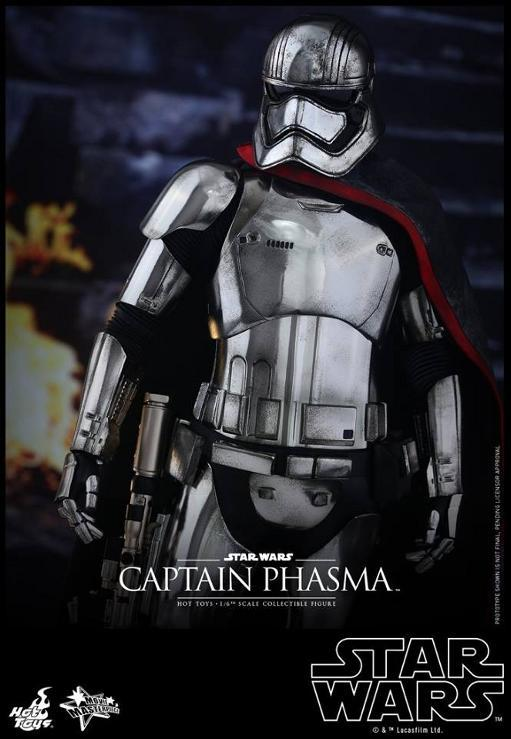 Hot Toys Star Wars TFA 1/6th scale Captain Phasma Cap_pl15