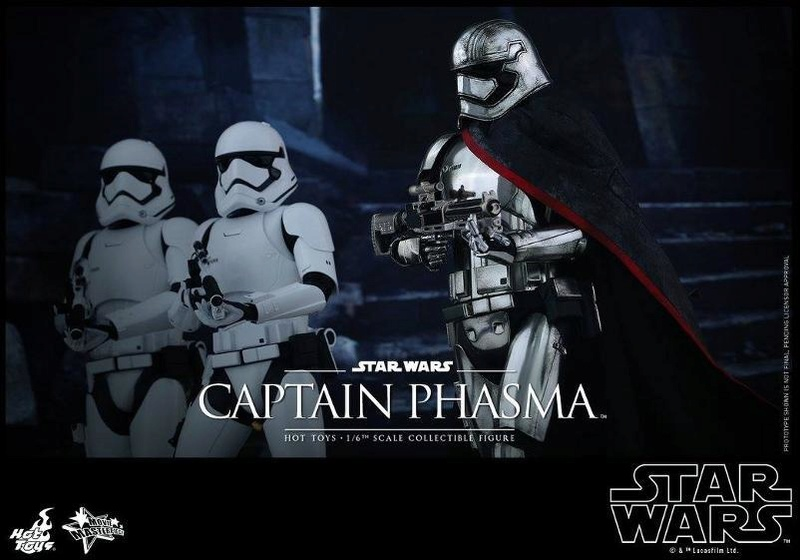 Hot Toys Star Wars TFA 1/6th scale Captain Phasma Cap_pl17