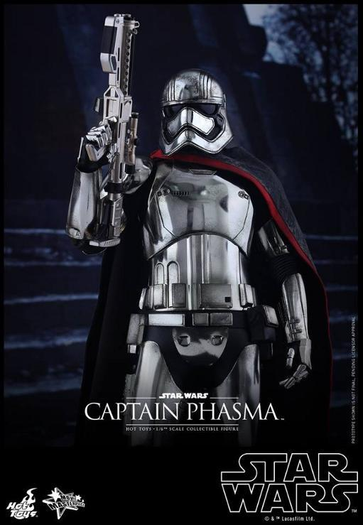 Hot Toys Star Wars TFA 1/6th scale Captain Phasma Cap_pl18