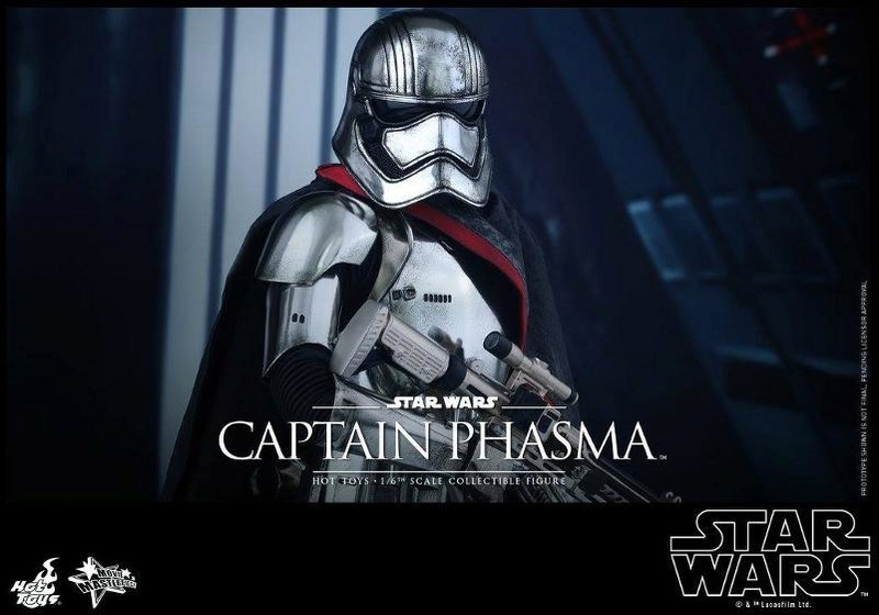Hot Toys Star Wars TFA 1/6th scale Captain Phasma Cap_pl19