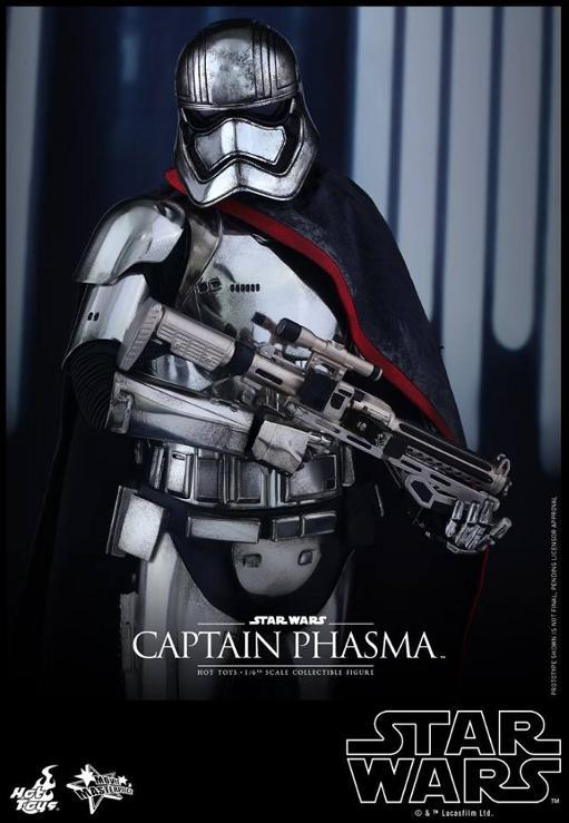 Hot Toys Star Wars TFA 1/6th scale Captain Phasma Cap_pl20