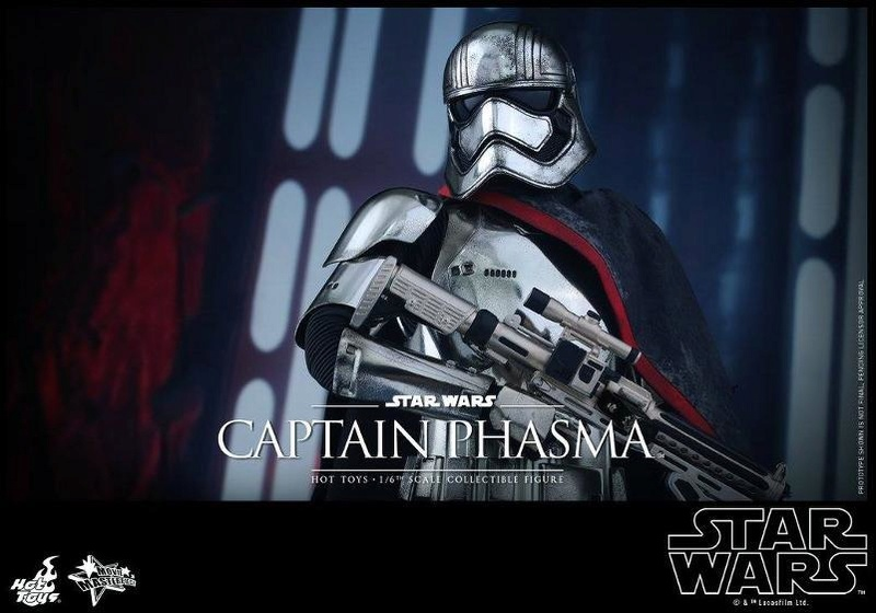 Hot Toys Star Wars TFA 1/6th scale Captain Phasma Cap_pl21