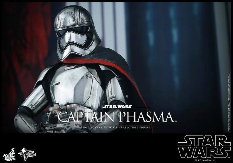 Hot Toys Star Wars TFA 1/6th scale Captain Phasma Cap_pl22