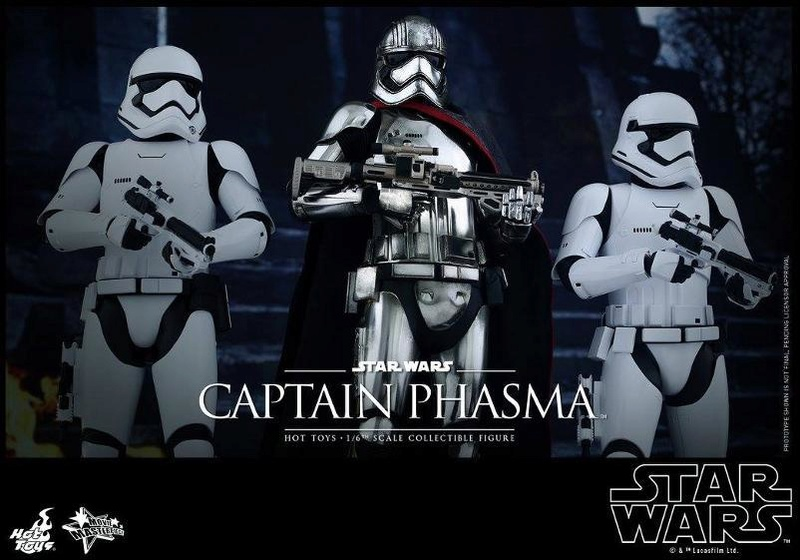 Hot Toys Star Wars TFA 1/6th scale Captain Phasma Cap_pl25