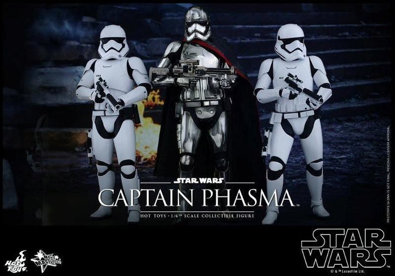 Hot Toys Star Wars TFA 1/6th scale Captain Phasma Cap_pl27
