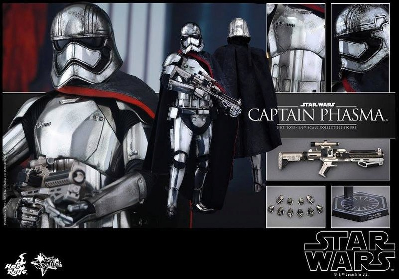 Hot Toys Star Wars TFA 1/6th scale Captain Phasma Cap_pl28