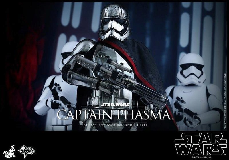Hot Toys Star Wars TFA 1/6th scale Captain Phasma Cap_pl29