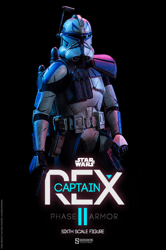 Sideshow - Captain Rex – Phase II Armor Sixth Scale Figure Captai11