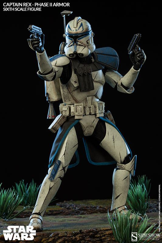 Sideshow - Captain Rex – Phase II Armor Sixth Scale Figure Captai13