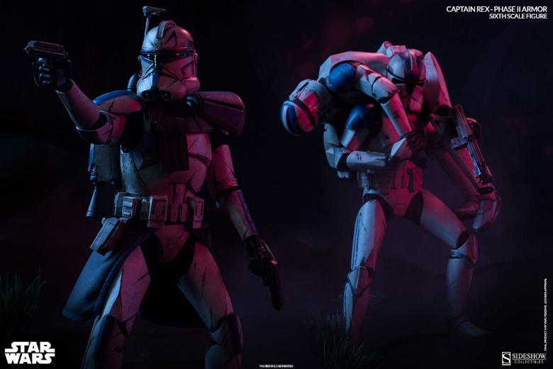 Sideshow - Captain Rex – Phase II Armor Sixth Scale Figure Captai16
