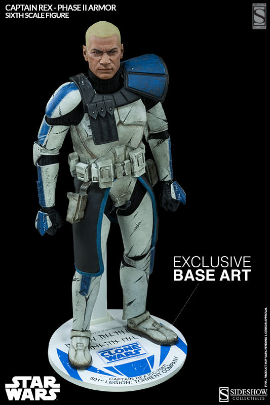 Sideshow - Captain Rex – Phase II Armor Sixth Scale Figure Captai17