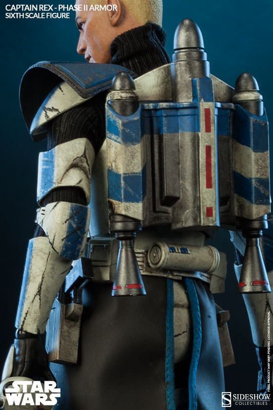 Sideshow - Captain Rex – Phase II Armor Sixth Scale Figure Captai19