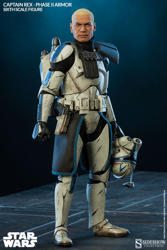Sideshow - Captain Rex – Phase II Armor Sixth Scale Figure Captai20