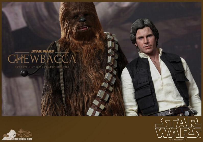 Hot Toys Star Wars IV 1/6th Chewbacca Collectible Figure Chewba10
