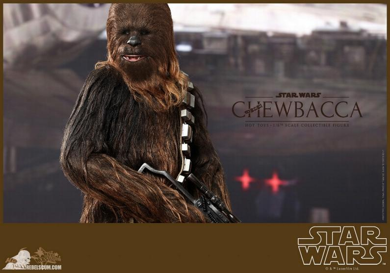 Hot Toys Star Wars IV 1/6th Chewbacca Collectible Figure Chewba11