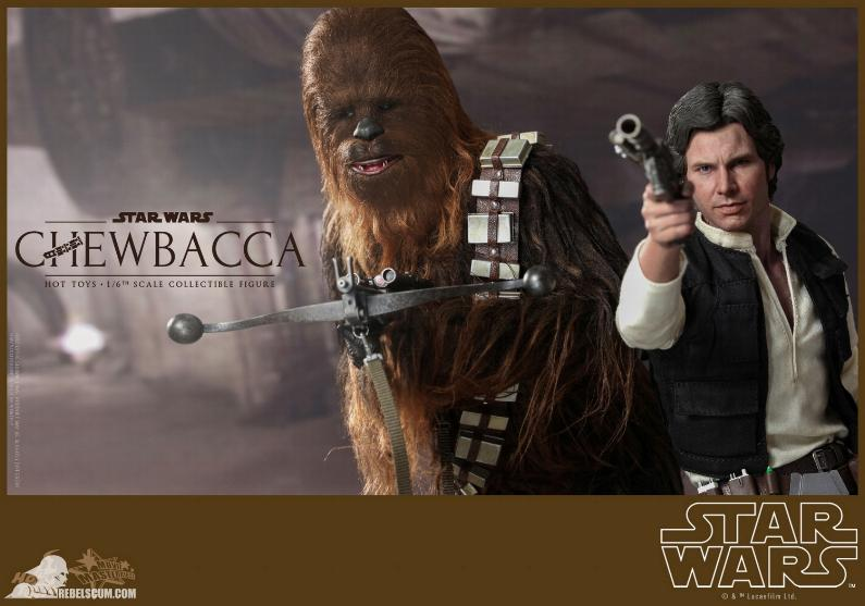 Hot Toys Star Wars IV 1/6th Chewbacca Collectible Figure Chewba12