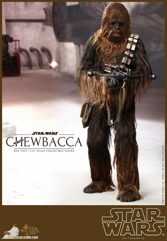 Hot Toys Star Wars IV 1/6th Chewbacca Collectible Figure Chewba13