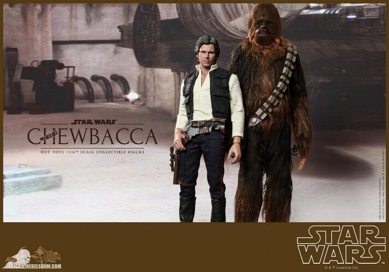 Hot Toys Star Wars IV 1/6th Chewbacca Collectible Figure Chewba14
