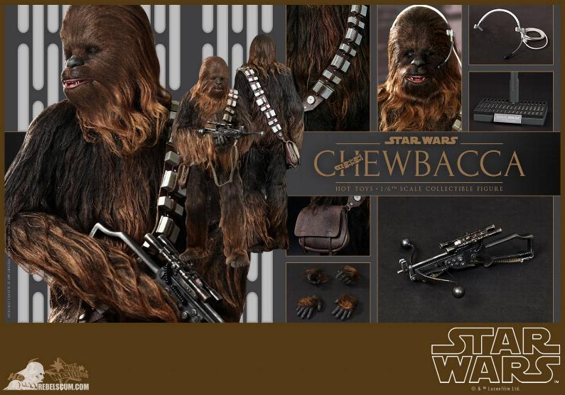 Hot Toys Star Wars IV 1/6th Chewbacca Collectible Figure Chewba15