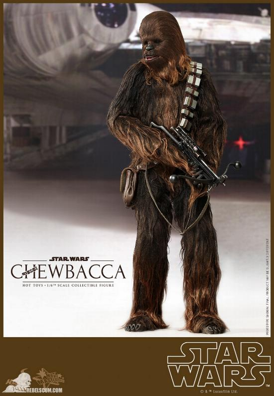 Hot Toys Star Wars IV 1/6th Chewbacca Collectible Figure Chewba16