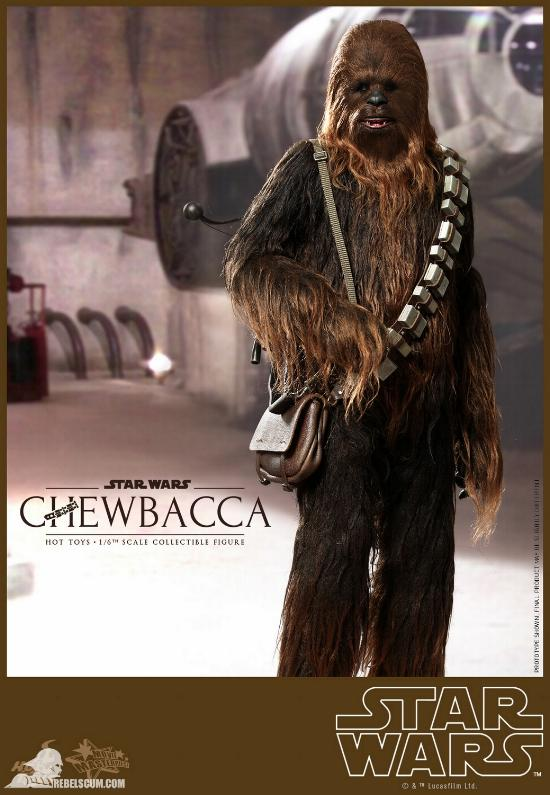 Hot Toys Star Wars IV 1/6th Chewbacca Collectible Figure Chewba18