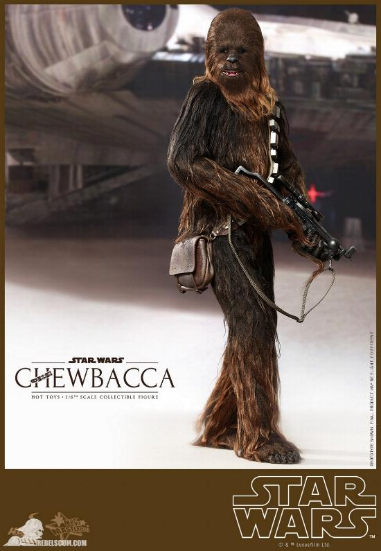 Hot Toys Star Wars IV 1/6th Chewbacca Collectible Figure Chewba19