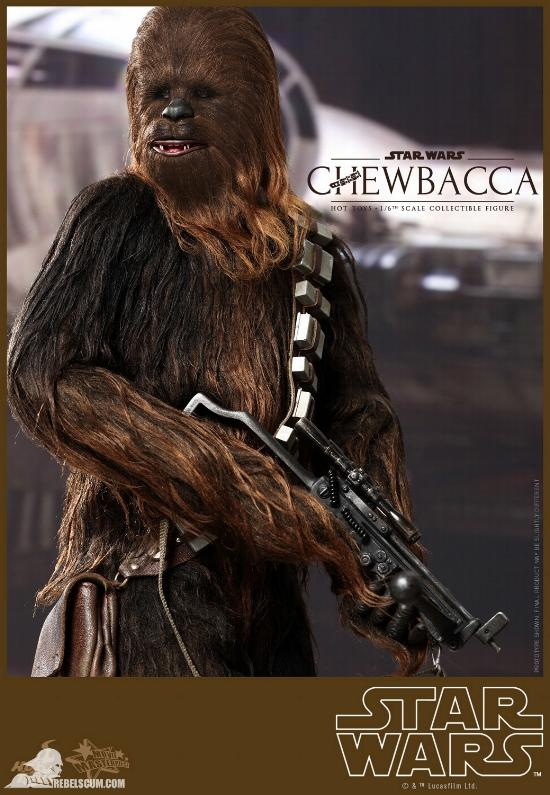 Hot Toys Star Wars IV 1/6th Chewbacca Collectible Figure Chewba20