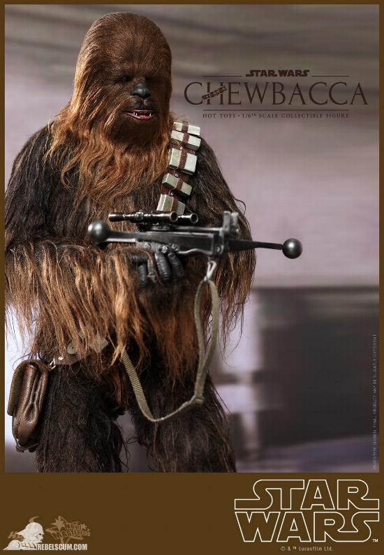 Hot Toys Star Wars IV 1/6th Chewbacca Collectible Figure Chewba21