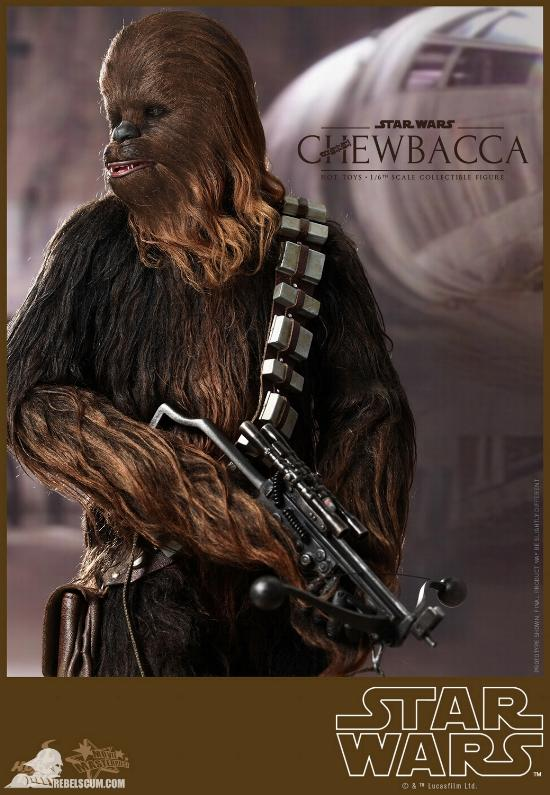 Hot Toys Star Wars IV 1/6th Chewbacca Collectible Figure Chewba22