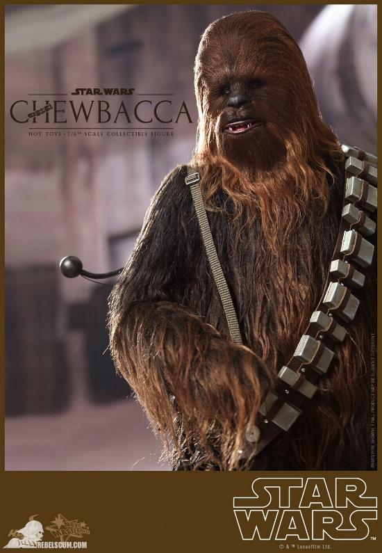 Hot Toys Star Wars IV 1/6th Chewbacca Collectible Figure Chewba23