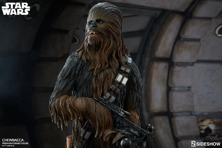 Sideshow Collectibles Chewbacca Premium Format Figure (2017) Chewba26