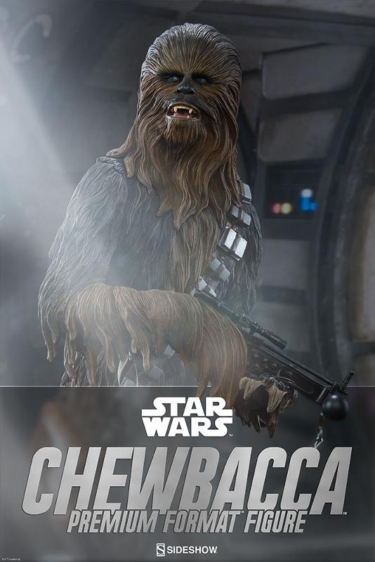 Sideshow Collectibles Chewbacca Premium Format Figure (2017) Chewba28