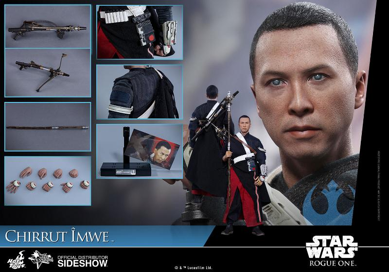 Hot Toys SW Rogue One - Chirrut Imwe 1/6th scale Figure Chirru29